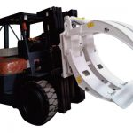 Forklift Attachment 360 Pag-ikot ng Single Arm Paper Roll Clamp