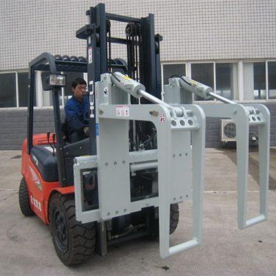 Hydraulic Forklift Attachment Mag-log Holder