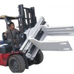 Bale Clamp Forklift Attachment Waste Paper Bale Clamp