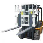 Ang Mga Hydraulic Attachment Hinged Fork Forklift