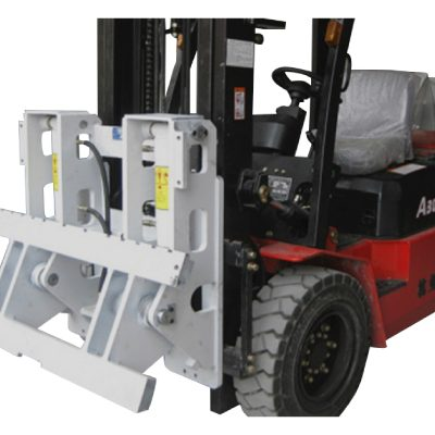 Forklift Attachment Hinged Forks
