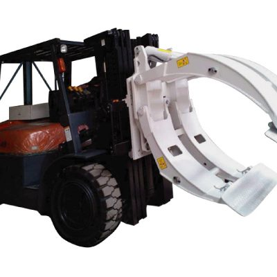 Klase 2 Forklift Attachment Pag-ikot ng Paper Roll Clamp
