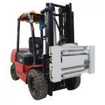 Sideshifting walang-braso Clamp para sa Forklift