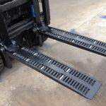 I-type ang WF2A1100 forklift wheel forks para ibenta